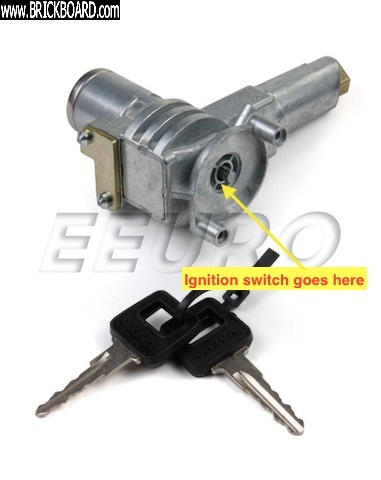 Volvo 900 -- ignition lock (from eeuroparts)